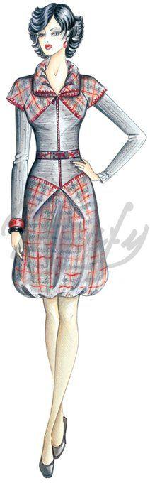 Marfy dress pattern 2592 €14