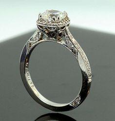 The ring! Tacori 2620 #wedding