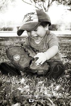 1st Birthday Shoot - Baseball