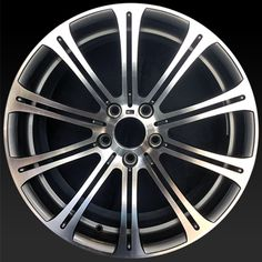 """BMW M3 wheels for sale 2008-2013. 19"""" Polished Silver rims 71234 - http://www.rtwwheels.com/store/shop/19-bmw-m3-wheels-for-sale-polished-silver-71234/"""