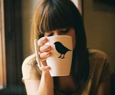 bird silhouette mug ; Coffee Cups, Tea Cups, Hangover Remedies, Bird Silhouette, Unique Coffee Mugs, Cute Mugs, Mug Cup, Morning Coffee, Coffee Break