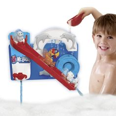 Baby Bath Toys - Pin it :-) Follow us .. CLICK IMAGE TWICE for our BEST PRICING ... SEE A LARGER SELECTION of  Baby Bath toys at  http://zbabybaby.com/category/baby-categories/baby-and-toddler-toys/baby-bath-toys/ - gift ideas, baby , baby shower gift ideas  - Mr. Bubble Bathtime Waterpark « zBabyBaby.com