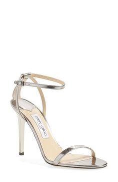 Jimmy Choo 'Minny' Ankle Strap Sandal (Women)