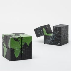 Earth And Sky Eight Cubes Map, $25.75, now featured on Fab.