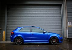 S3 two door, a car the US will never get, sadly. Audi S3 8p.