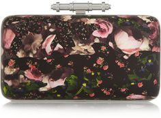 Givenchy Obsedia clutch in printed leather