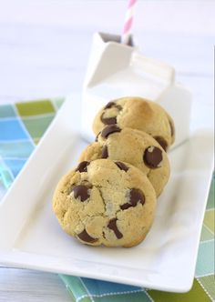 Brown Butter Cream Cheese Chocolate Chip Cookies