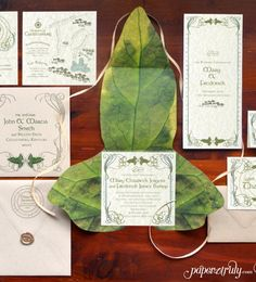Tolkien Invitation Suite SAMPLE ONLY Price is not by PaperTruly