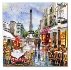 """""""A Summer Day In Paris"""" by victorianheaven ❤ liked on Polyvore featuring arte, paris y artset"""