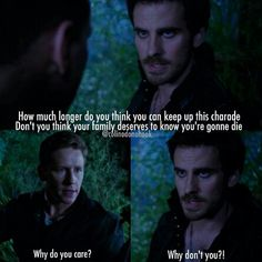 "I love the line ""Why don't you?"" It really shows that Hook does care about family"