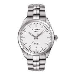 afa876182ee Tissot PR100 Gents Silver Dial Watch. - Geeves Jewellers - suppliers of  watches and jewellery
