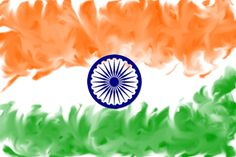 Indian Flag Wallpaper Abstract