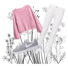 """Untitled #26"" by alica2003 on Polyvore featuring Frame and NIKE"