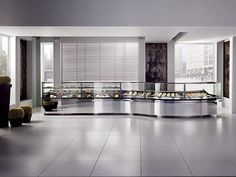 Refrigerated counter display case / for shops / for pastry shops / for bakeries - Oscartek