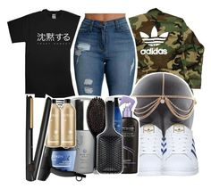 """""""*Read description*"""" by viinextdoor ❤ liked on Polyvore featuring adidas"""