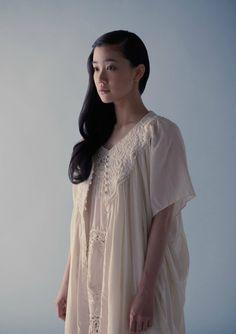 Heartache and Headache Yu Aoi, Mori Girl, Japanese Fashion, Asian Girl, Kimono Top, Sari, Actresses, Cute, Beautiful