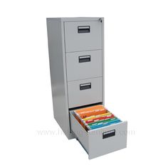 4 Drawer Steel Filing Cabinets Supplied By Hefeng Furniture.com Are Ideal  For Office