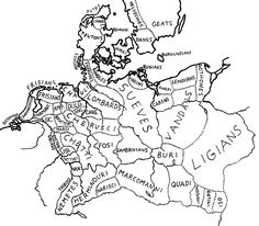 77 best historical maps and other genealogical tools images German 18th Century Life image result for map of german tribes germanic tribes historical maps cartography genealogy