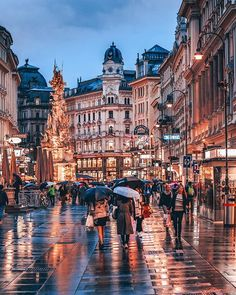 In Vienna, Austria. City Aesthetic, Travel Aesthetic, Beautiful Places To Travel, Cool Places To Visit, Austria Travel, Japan Travel, Voyage Europe, Future Travel, Belle Photo