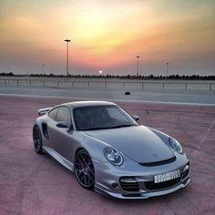 Porsche Turbo 911 sunset photography