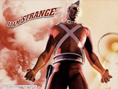 Adam Strange by Alex Ross