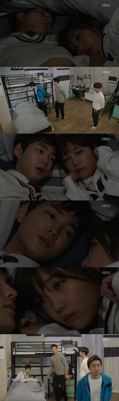 [Spoiler] 'Cheeky Go Go' Jung Eun-ji and Lee Won-geun hide under one blanket @ HanCinema :: The Korean Movie and Drama Database
