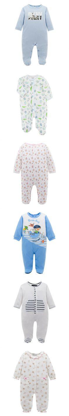 Long Sleeve Baby Romper Winter Pijamas Infantile Light Blue Color Letter Printing Similar Brand Baby Boy Clothes Tutine Neonato