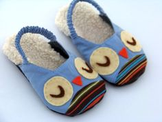 Kid slippers I can do!