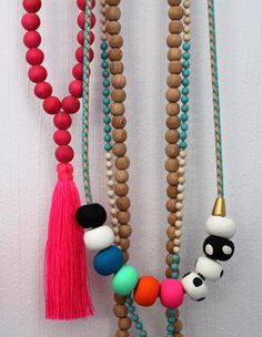 Zebony Design necklace