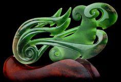 Beautitul!  Bone Art Place - Featured Jade carving Artist Hepi Maxwell
