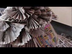 ▶ The Newspaper Dress - YouTube