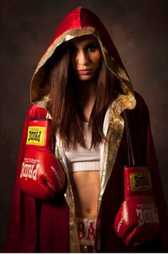 Ivana Habazin- Croatian Welterweight professional boxer, 2014 IBF Female World Champion She got interested into boxing after watching Rocky on TV. She attends the Catholic Theology Faculty at University of Zagreb and Faculty of Law at University of Rijeka. She started boxing in 2010 and so far she won 14 matches (KO 5) and lost 2(KO 0).