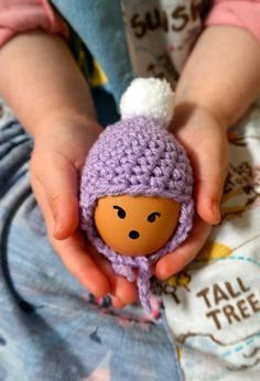 Simple and cute crochet egg cosy