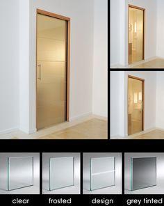 Glass Sliding Pocket Doors