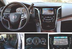 Interior 2015 Cadillac Escalade - Review