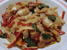 Pad Kee Mao - apparently this one tastes *~authentic~*