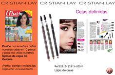 Los lápices de #cejas son muy socorridos para aquellas chicas que tienen las cejas poco pobladas. Revista #pasión