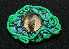 Polymer Clay Dragon Eye