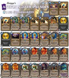 Kripp just showed his version of Anyfin N'Zoth Paladin and I like it! Have fun playing this guys! #Hearthstone #standardpaladin