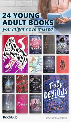 The best books for teens. These young adult novels feature a mix of fantasy books, romance, historical books, and more.