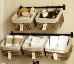Small Bathroom Towel Storage bathroom towel storage ideas: another way to take advantage of