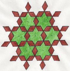 Diamond 15 Dot Rangoli Design #Rangolidesign