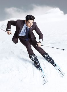 Kim Woo Bin's 2nd Batch Of F/W 2015 Ads For SIEG FAHRENHEIT | Couch Kimchi