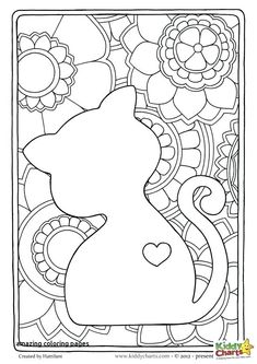 Check out our lovely cat mindful coloring pages for kids and adults! - - Check out our lovely cat mindful coloring pages for kids and adults! Mandala / Vorlagen / Coloring Cat mindful coloring pages for adults and kids Space Coloring Pages, Fall Coloring Pages, Cat Coloring Page, Flower Coloring Pages, Christmas Coloring Pages, Animal Coloring Pages, Free Coloring, Adult Coloring Pages, Coloring Pages For Kids