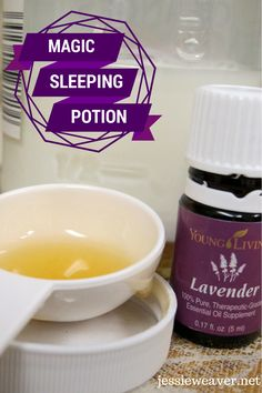 My special concoction that helps me get to sleep easily every time!