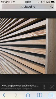 holzfassade aus dem allg u diese rhombusleisten machen es m glich die profile sind aus l rche. Black Bedroom Furniture Sets. Home Design Ideas
