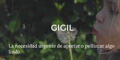 Filipino: gigil