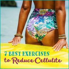 Do you have unwanted cellulite? Creams and treatments don't work. Strength training does. Try these 7 exercises to reduce the appearance of cellulite.