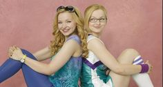 Liv and maddie Dove Cameron. ;)