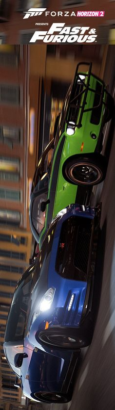 Forza Horizon 2 - Fast and Furious - posted by touchcheats.com